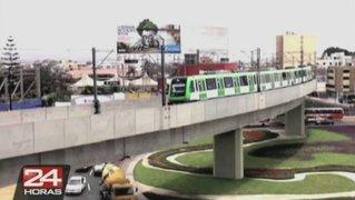 El Metro de Lima puso en marcha su recorrido desde VES a SJL