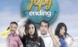 Japy Ending: así fue el estreno de la película donde actúa Sandra Vergara