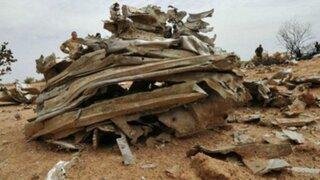 Cajas negras del avión Air Algérie se enviarán a Francia
