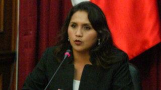 Ana María Solórzano condenó amenazas de muerte contra Cecilia Tait