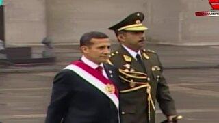 Presidente Humala se dirigió a la Catedral de Lima para misa Te Deum