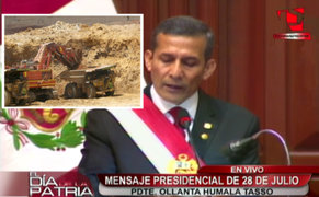 Mensaje a la Nación 2014: proyecto mejorará distribución del Canon Minero