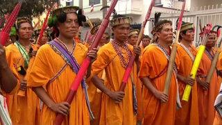Ronderos de Pangoa se preparan para desfilar en la Gran Parada Militar
