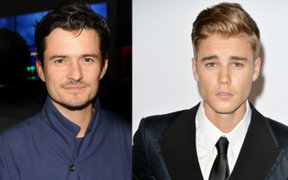 VIDEO: Orlando Bloom le propinó puñetazo a Justin Bieber en un restaurant
