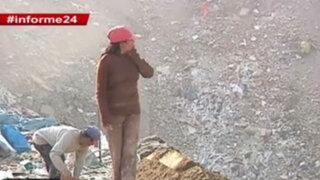 Informe 24: recicladores arriesgan su salud en los botaderos ilegales de Lima
