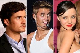 Justin Bieber y Orlando Bloom continúan enfrentamiento en redes sociales