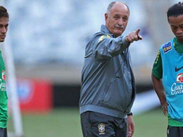 Brasil vs. Alemania: el mensaje que Ronaldinho le mandó a Scolari y Neymar