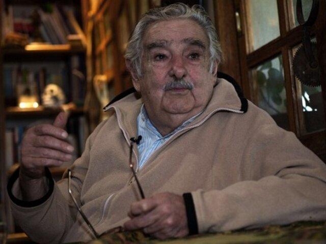 Brasil 2014: José Mujica alienta a Argentina en la final del Mundial