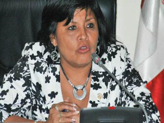 Esther Saavedra: Nadine Heredia tiene derecho a opinar, pero no de imponer