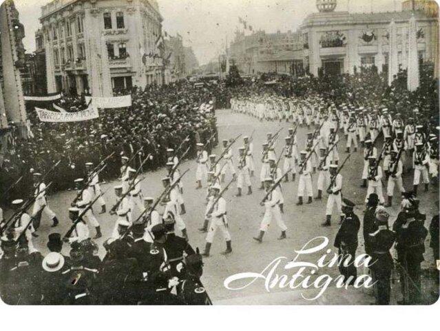 FOTOS: así se celebraba la 'Gran Parada Militar' en la década de los 20'