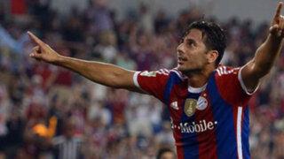 Bloque Deportivo: Bayern venció a Guadalajara de México con gol de Pizarro