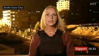 Periodista de CNN casi es alcanzado por un misil en la Franja de Gaza