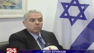 Embajador israelí en Perú asegura que nuestro país premia al terrorismo
