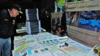 Continúan operativos contra falsificadores del Jr. Azángaro
