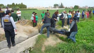 Hallan cadáver de agricultor en canal de regadío de Chimbote