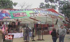 La Molina: la Feria del arte peruano, una opción familiar para el fin de semana