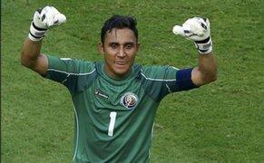 Real Madrid confirmó el fichaje del arquero Keylor Navas