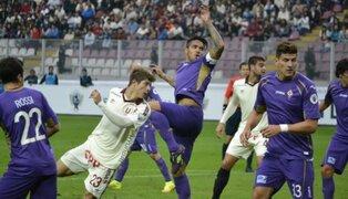 Universitario vs. Fiorentina: todo lo que nos dejó la final de la Euroamericana