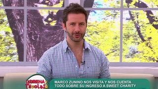 Marco Zunino cuenta detalles de su ingreso a musical Sweet Charity