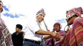 Presidente Humala: Recuperación del lote 88 permite desarrollar más industrias