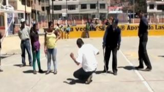 Cajarmarca: rondas urbanas capturaron a dos peligrosos ladrones