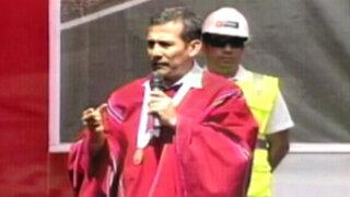 """Presidente Ollanta Humala negó que haya """"lobbies"""" en su Gobierno"""