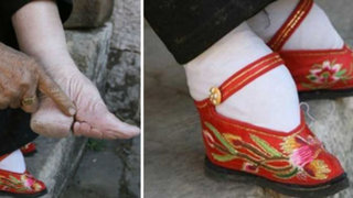 'Pies de loto', una dolorosa tradición china y sus últimas mujeres sobrevivientes