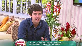 Jesús Alzamora nos cuenta detalles de su libro 'Diario de un Mago'