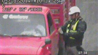 Policía escolta de ministro grabado recibiendo coima será dado de baja