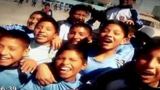 Escolares de Huancayo se preparan para participar en Panamericana Running