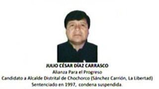 Transparencia presenta lista de candidatos que fueron sentenciados por narcotráfico