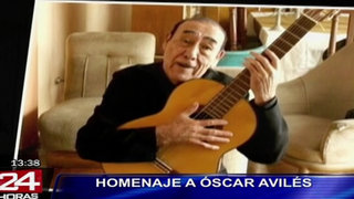 Presentarán videos y fotos inéditos durante homenaje a Óscar Avilés
