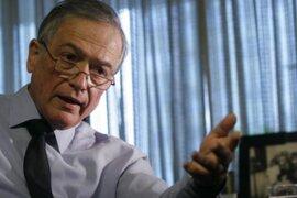 Falleció el expresidente del Congreso Henry Pease a los 69 años