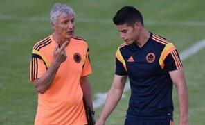 James Rodríguez espera que Pékerman continúe como técnico de Colombia