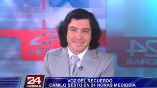 Imitador chileno de Camilo Sesto llegó a Perú para ofrecer tres conciertos