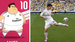 FOTOS: ¿Así se verían las estrellas del Real Madrid con unos kilos de más?