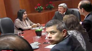 Pese a reunión de hoy con Ana Jara, PPC aún no define si dará voto de confianza
