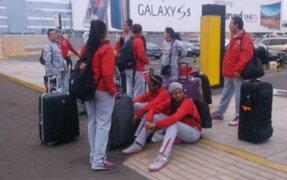 Bloque Deportivo: olvidan recoger a selección de vóley tras su llegada a Lima
