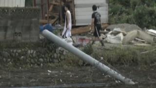 Fuerte tifón dejó nueve muertos y decenas de heridos en Japón