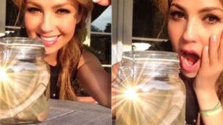 Thalía mostró en Instagram 'costillas' que se sacó para tener 54 CM de cintura