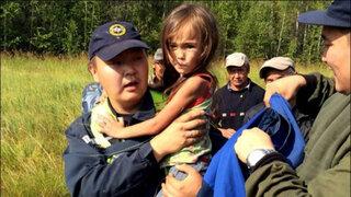 Niña de 4 años de edad sobrevivió 11 días en un bosque de Siberia
