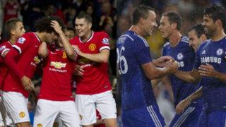 Premier League: Chelsea y Manchester United finalizaron con triunfos su pretemporada