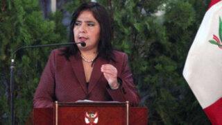 Ana Jara niega que en el Gobierno haya influencia de 'lobbies'
