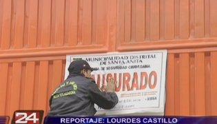 Santa Anita: clausuran fábrica donde se produjo derrame de potente pesticida