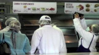 Digesa inspecciona local de comida rápida donde apareció roedor