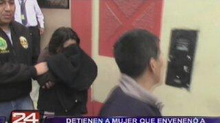 Ventanilla: detienen a mujer que envenenó a sus cinco hijos