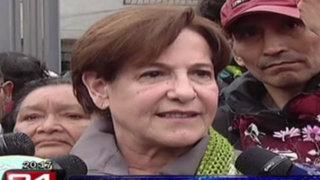 Alcaldesa Villarán negó contratación de los rostros del 'No'