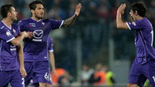 Bloque Deportivo: Fiorentina venció 2-1 al Real Madrid con Vargas