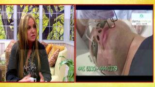 Especialista nos explica las bondades del tratamiento facial laser