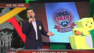 El 'José José' de Independencia: candidato sorprende con magistral imitación